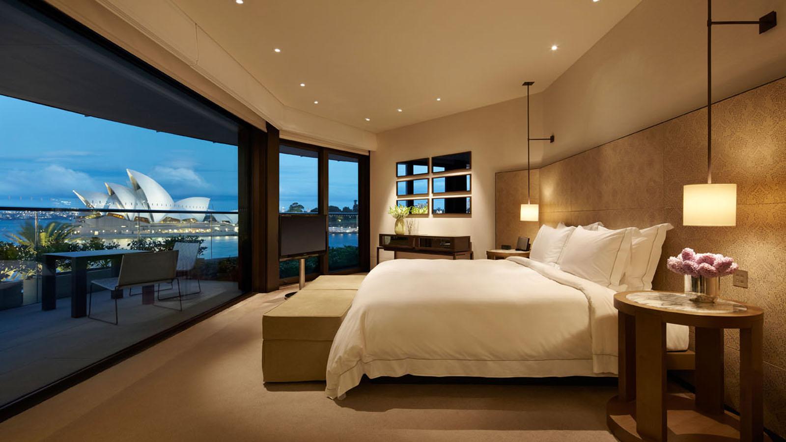 A Room With A View Park Hyatt Sydney Carrier