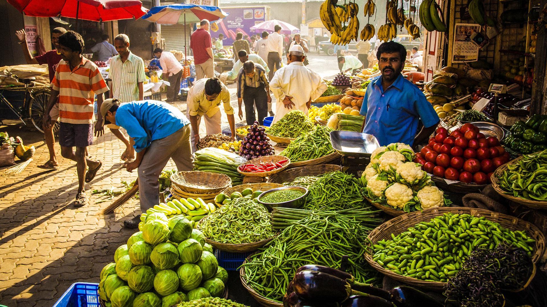 Market Indian Food