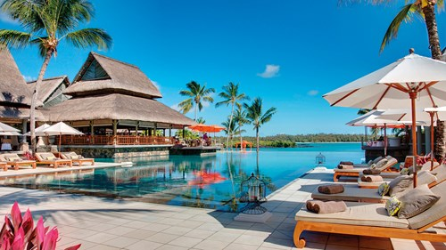 Indian ocean, Mauritius, Constance le prince maurice, Main pool