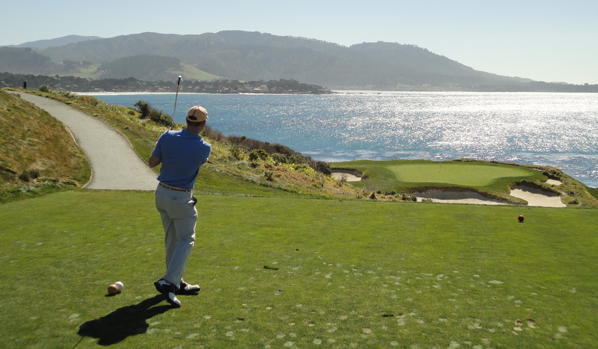 Steve Kimber Golf at Pebble Beach