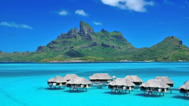 Fly to Bora Bora