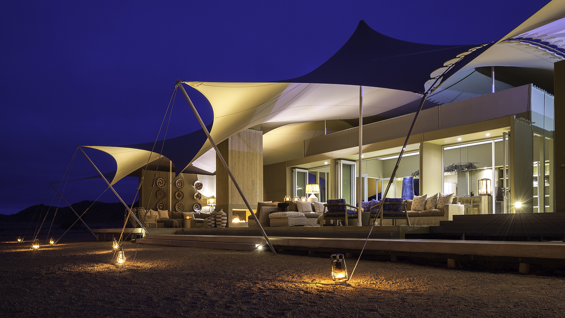 Hoanib Skeleton Coast Camp Namibia In Africa From Carrier