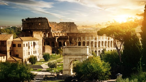 Carrier presents... private tours of the Colosseum and Vatican