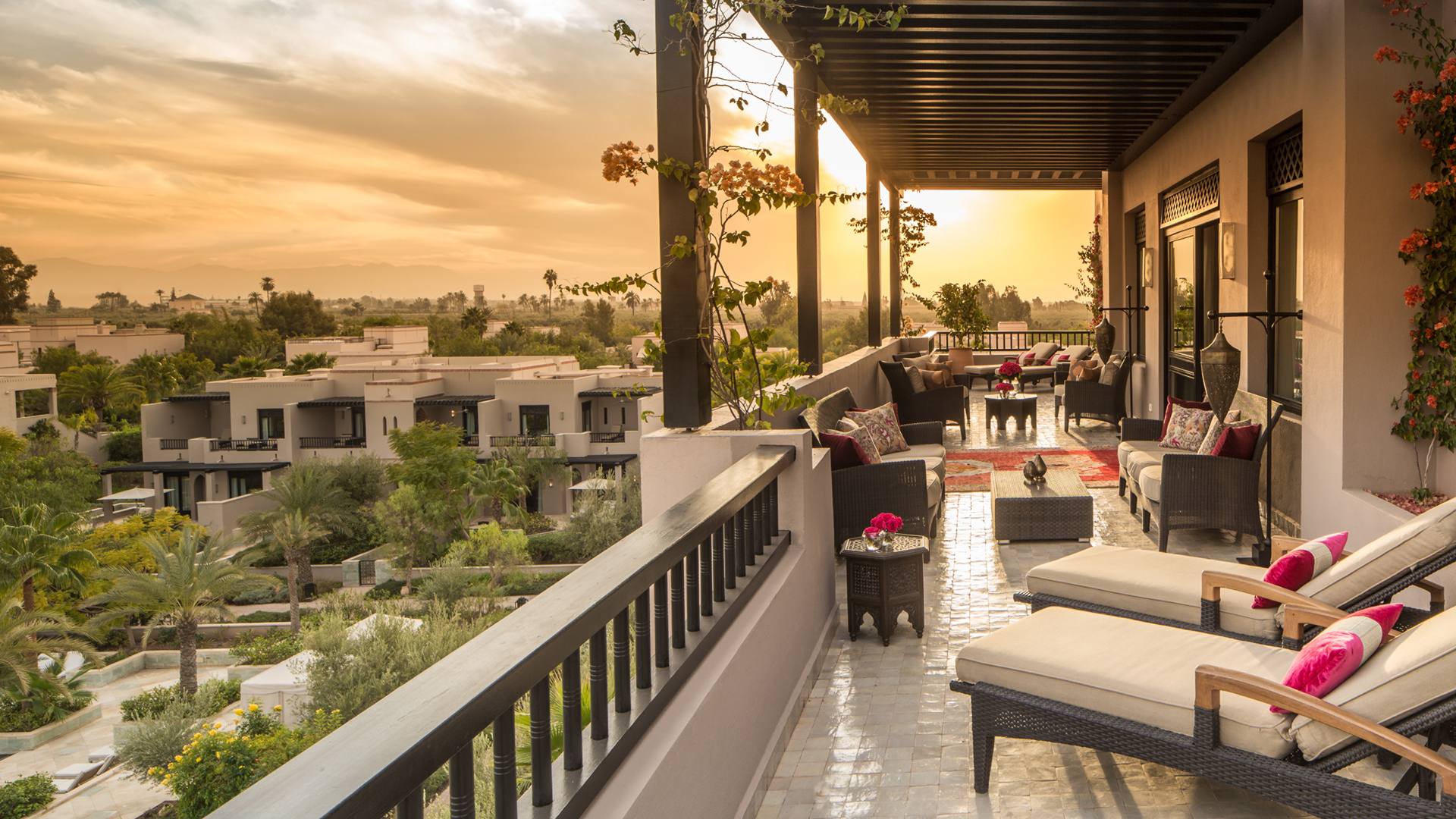 Presidential suite at Four Seasons Marrakech