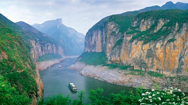 Three Gorges Dam Project, Yichang
