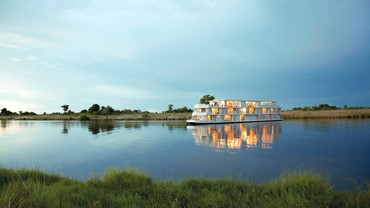 Cruise on the Chobe River