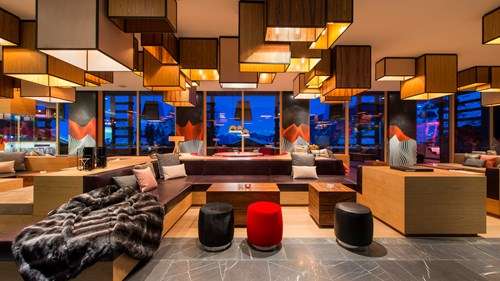 W Living Room, W Verbier