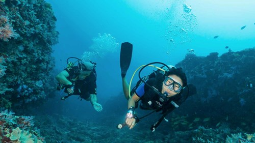 Scuba diving at One&Only Reethi Rah