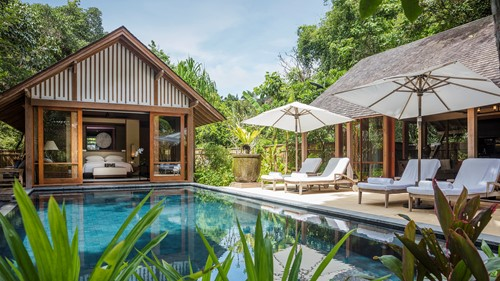Two-Bedroom Beach Villa. The Datai Langkawi