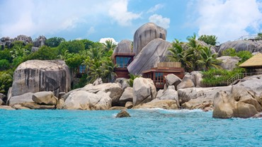 Beach stay in the Seychelles